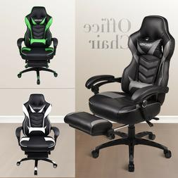 Gaming Racing Office Chair High Back Ergonomic Swivel Reclin