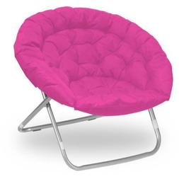 Oversized Folding Moon Chair, Multiple Colors, Large, Round