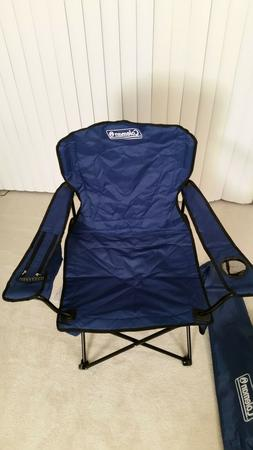 Coleman oversized quad camping folding chair with cooler