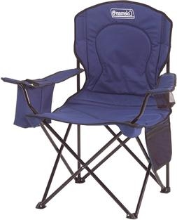 Coleman Portable Camping Quad Chair with 4-Can Cooler - Mult