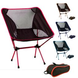 Portable Lightweight Foldable Camping Chair Outdoor Hiking B