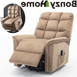 Power Lift Chair Electric Recliner for Elderly Fabric Motori