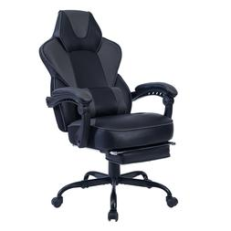 Racing Gaming Chair Ergonomic Design Leather Swivel Office C