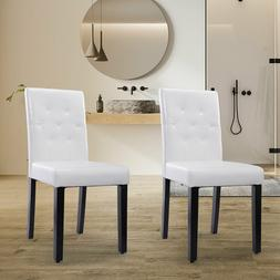 2/4/6Pcs Dining Room Chair Kitchen Chairs Set Armless Pine L