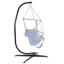 Best Choice Products Metal Hanging Hammock Chair C-Stand for