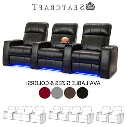 Seatcraft Sonoma Home Theater Seating Recliners Seat Chair C