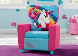 Toddler Chair Kids Seat Reading Video Games Unicorn Theme Ch
