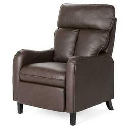 Best Choice Products Upholstered Faux Leather English Roll A